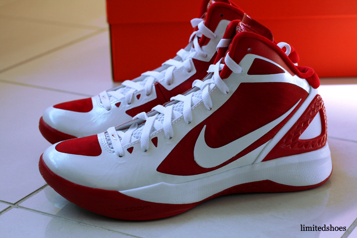 nike zoom hyperdunk 2011 red neon volt pe griffin white