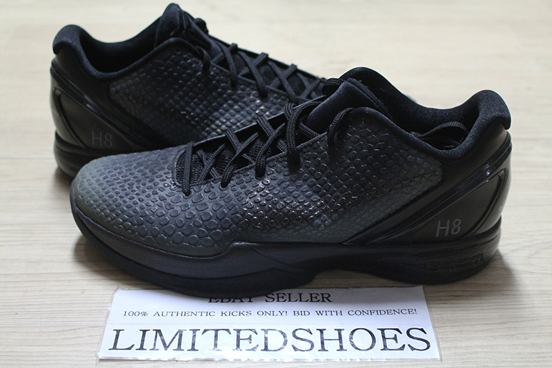 Details about NIKE ZOOM KOBE VI 6 ID BLACK OUT 446897 992 US 10.5 grinch all star ftb 3d camo