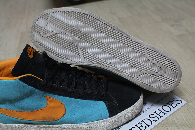 Details about NIKE BLAZER SB CHLORINE BLUE HOT POTATO CERAMIC 310801 481 US 11.5 red low gt