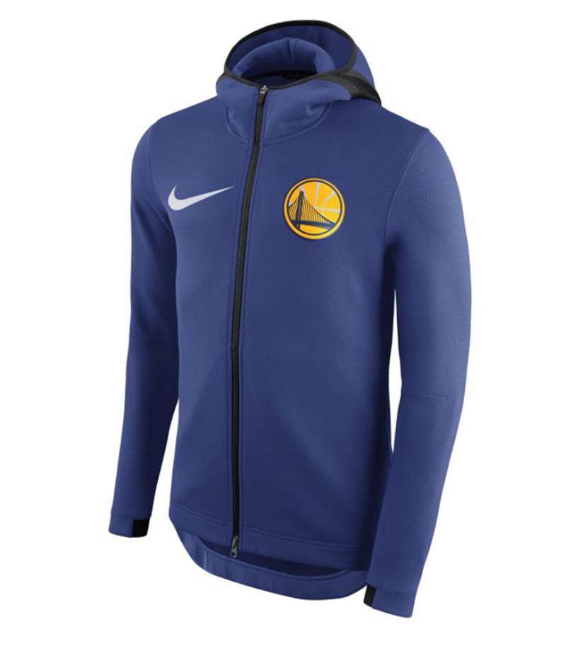 Détails sur Nike Golden State Warriors Therma Flex Showtime NBA Full Zip Hoodie 899840 495 afficher le titre d'origine