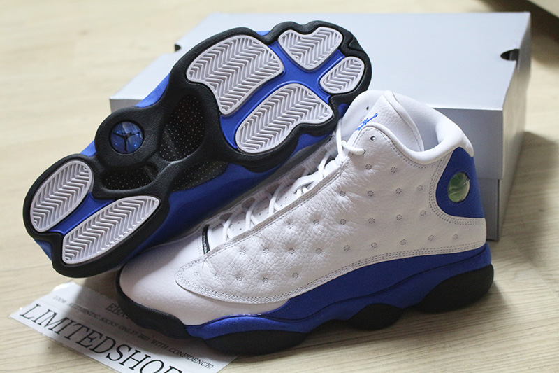 24ab296d54b9 2018 NIKE AIR JORDAN 13 XIII RETRO WHITE HYPER ROYAL BLUE 414571-117 ITALY  DS