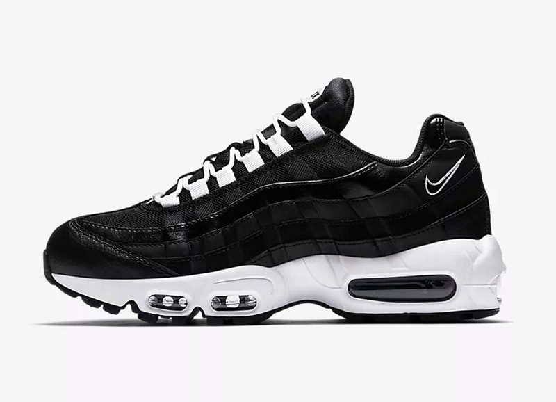 NIKE WMNS AIR MAX 95 BLACK WHITE 307960-016 OG safari atmos essential volt blue
