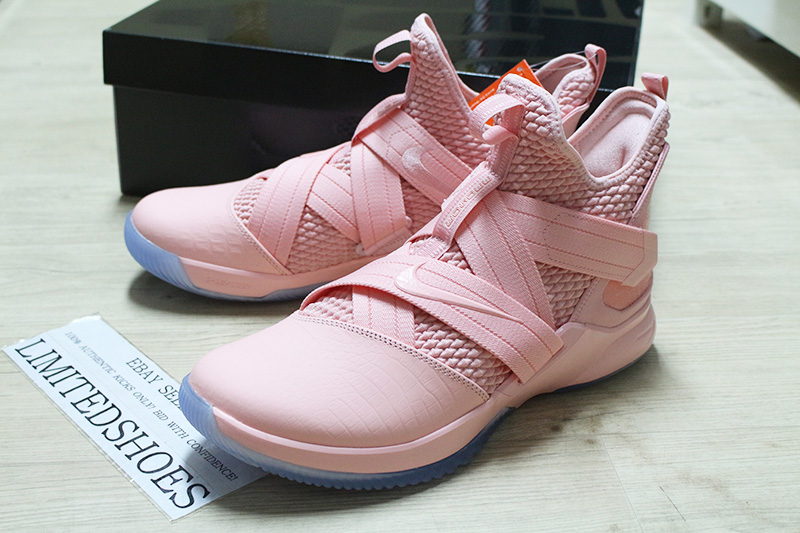 48f1db0f7d4330 NIKE LEBRON SOLDIER XII 12 SFG PINK ICE MULTI COLOR AO4054-900 aunt ...