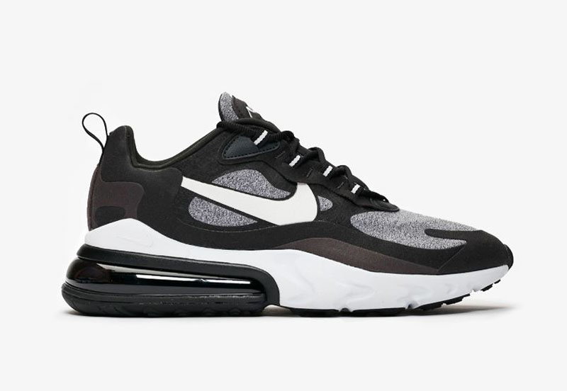 Details about NIKE AIR MAX 270 REACT BLACK VAST GREY OFF NOIR AO4971 001 Mens Running Sneakers