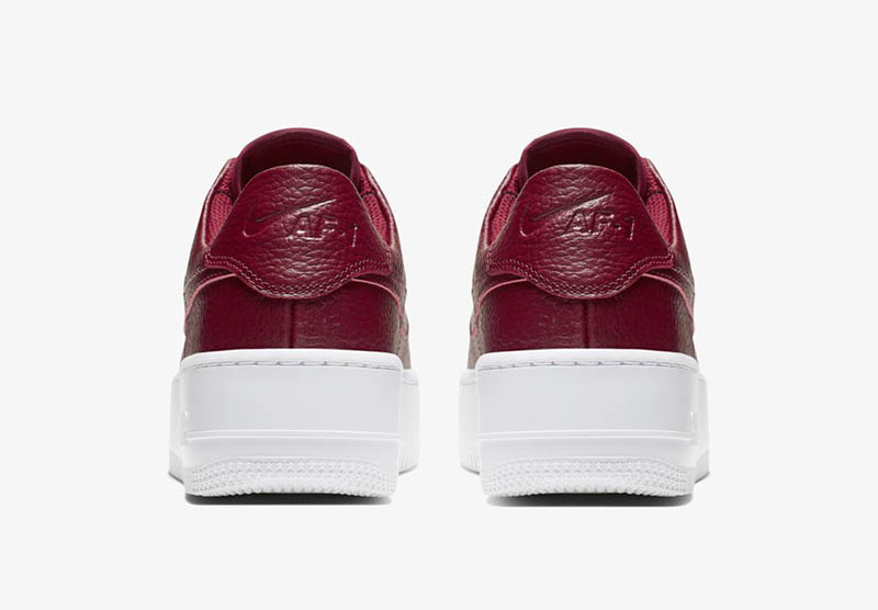 Details about WMNS NIKE AIR FORCE 1 SAGE LOW TEAM RED WHITE AR5339 602 Womens Causal Sneakers