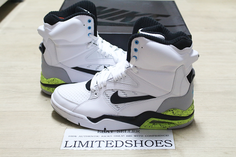 Religioso O después presente  NIKE AIR COMMAND FORCE 'WHITE MEN CAN'T JUMP' VOLT BILLY HOYLE PE  684715-100 | eBay