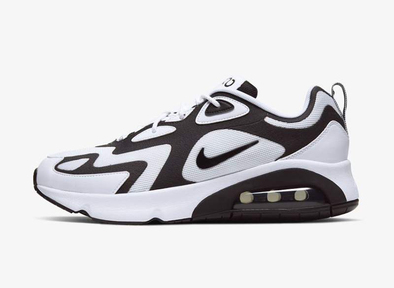 Details about NIKE AIR MAX 200 WHITE BLACK ANTHRACITE AQ2568 104 Mens Lifestyle Sneakers
